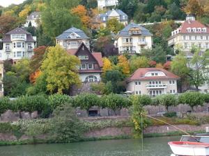 ハイデルベルク対岸の美しい住宅.JPG